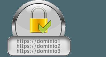 Certificados para varios dominios